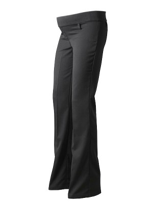 Black Under Bump Tall Maternity Trousers