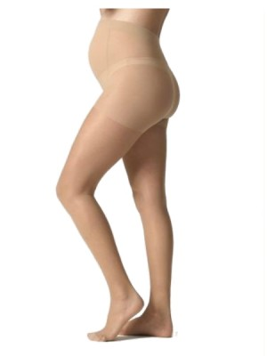 Premium 20 Denier Tall Maternity Tights - Beige